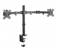 "Techly Desk Mount for Two 13 - 32"" Monitors with Clamp"