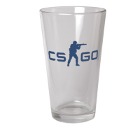 CS:GO - Glass (Blue Logo)