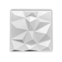 Gamegear 3D Polygon Wall Pannels (White) - 25 pack