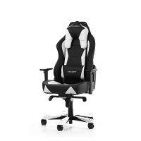 DXRacer Work Gaming Chair (Black/White) - W0-NW