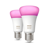 Philips Hue White and color ambiance 9W A60 E27 2-pack