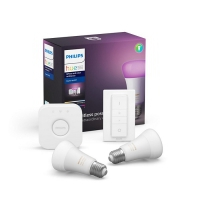 Philips Hue Starterkit White and color ambiance 9W A60 E27 2set