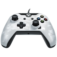 PDP Wired Controller (White Camo) (Xbox One / PC)
