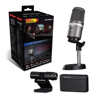 Avermedia Streamer Starter Pro (Kit Mini + Mic + Cam)