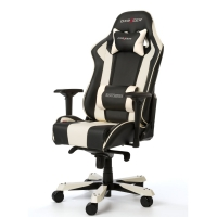DEMO: DXRacer KING Gaming Chair (White/Black) - OH/KF06/NW