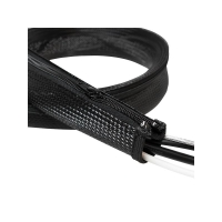 Logilink Cable Flex Wrap Zipper 1M - Black