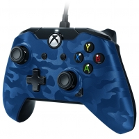 PDP Wired Controller (Blauw Camo) (Xbox One / PC)