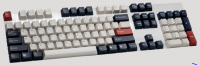 Tai-Hao England Blue Keycap Set (ANSI) 104 layout