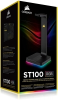 Corsair Gaming ST100 RGB Premium Headset Stand with 7.1 Surround