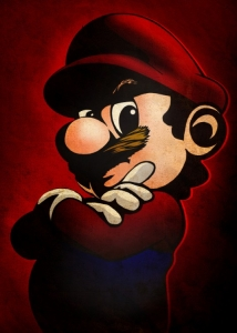 Displate - Mario Portret