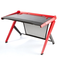 DXRacer - GAMING DESK 1000-NR Computer Desk (Black / Red)