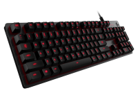Logitech G413 Carbon Red Mechanical Keyboard - Azerty (BE)