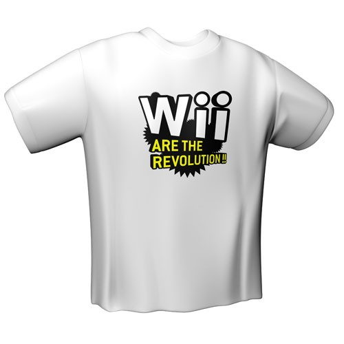 "Gamerswear ""Wii are the revolution"""