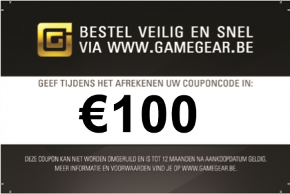 Gamegear Giftcard €100