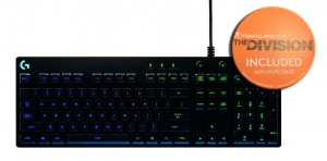 Logitech G810 Orion Spectrum AZERTY (FR) + THE DIVISION