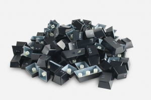 Glorious Keycaps 105st ISO FR layout (black)
