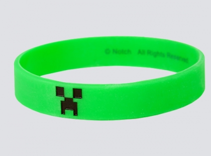 Minecraft Creeper Bracelet (Medium)