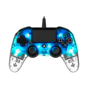 Nacon Wired Compact LED Controller (PS4/PC) (Blue)