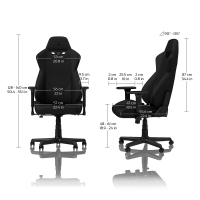 Nitro S300 GAMING CHAIR – NEBULA PURPLE