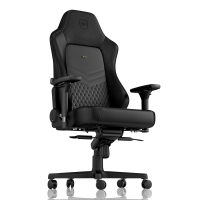 Noblechairs HERO Series - Black (Real Leather)