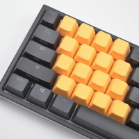 Tai-Hao Rubber Keycaps Orange (18 keys)