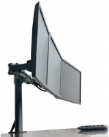"Techly Triple Desktop mount LCD/LED 13-24"" 30kg"